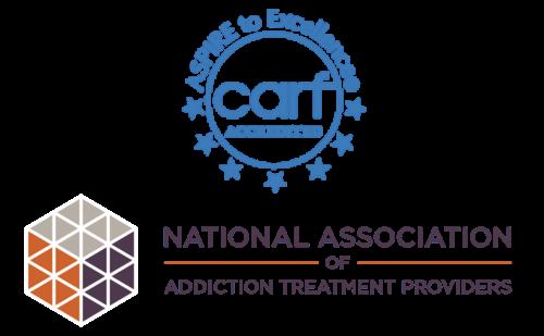 CARF accreditation logo 500x309