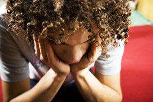 Individual Experiencing Alcohol Withdrawal