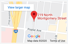memphis recovery centers google map result for montgomery street